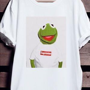 Supreme Tops Kermit T Shirt Uni